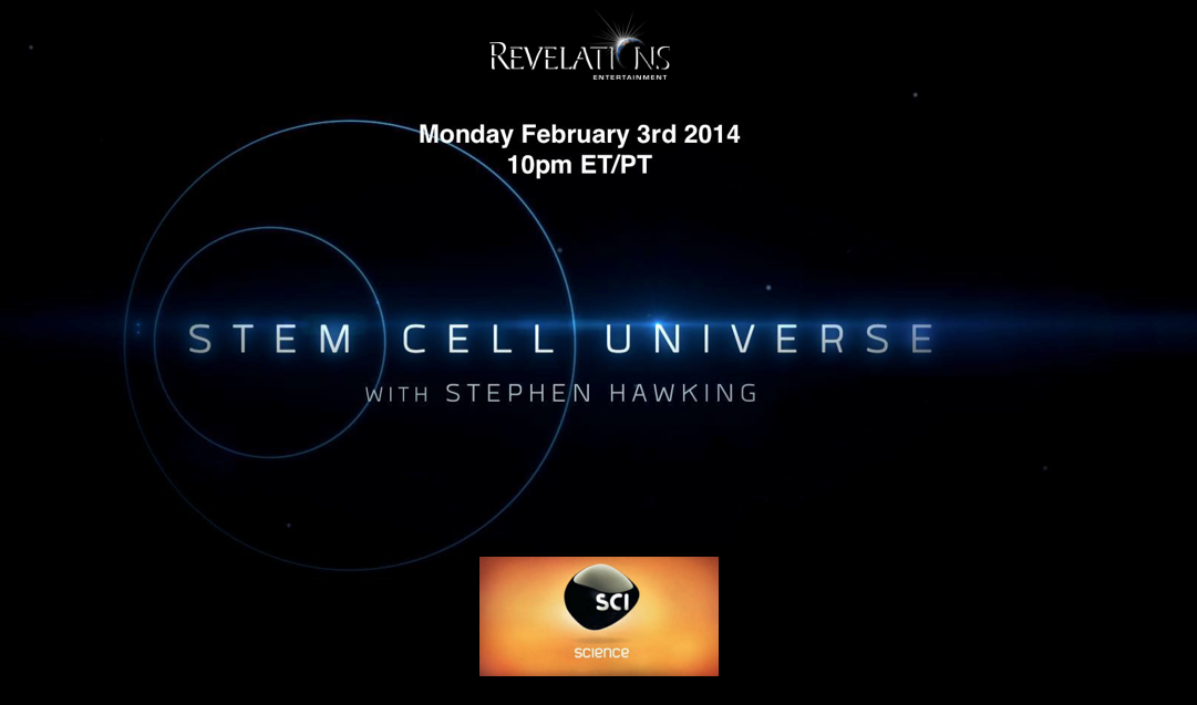 Stem Cell Universe Air Date